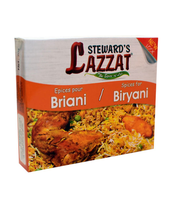Lazzat Biryani 1 600x697 - Lazzat - Spice for briani 70 g