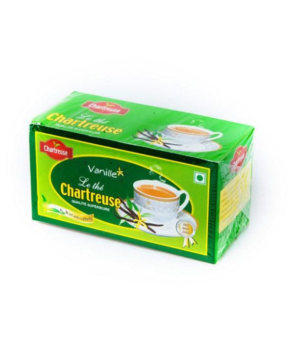 Tea Chart 600x697 - Chartreuse vanilla tea bags 50g