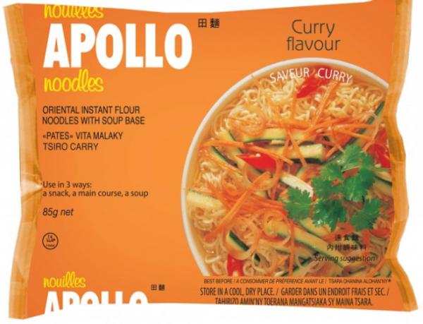 Apollo Curry 600x459 - Apollo Noodles - Curry